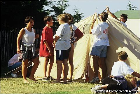 Unsere Zelte 2