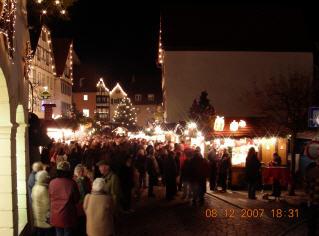 Weihnachtsmarkt Bad Wimpfen 1